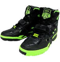 adidas (アディダス)×Jeremy Scott  O by O ARTILLERY HI G01516 ブラック×グリーン