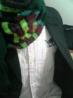 ジャケットとHGのシャツ